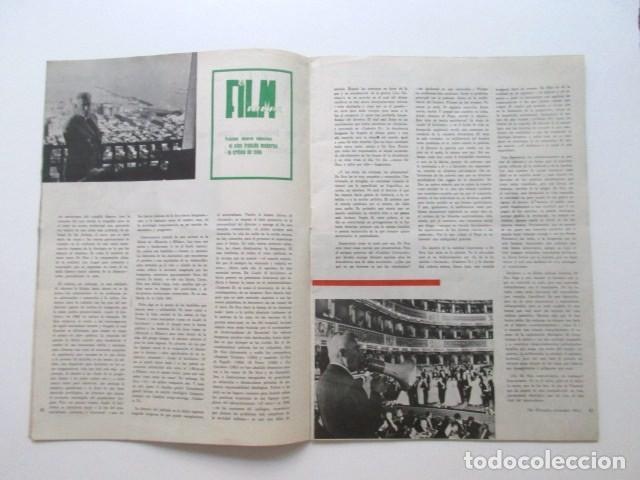 Cine: FILM IDEAL, AÑO 1962, CINE IDEOLÓGICO, BARDEM Y SUS CRÍTICOS, DE SICA, EL CINE MUSICAL, ETC - Foto 2 - 93303365