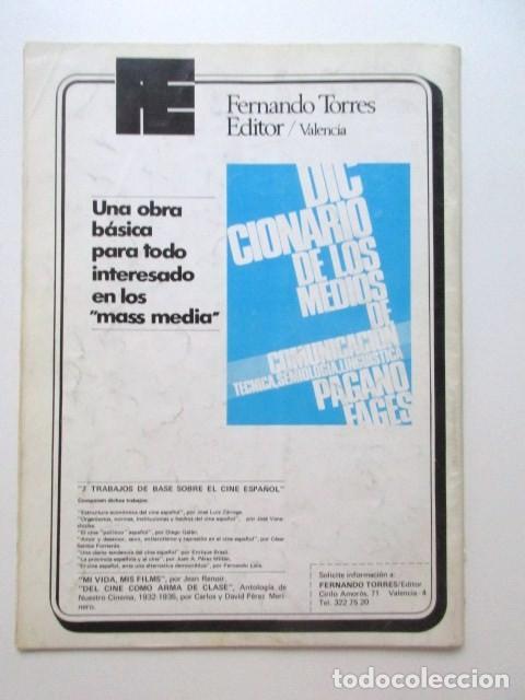 Cine: PIER PAOLO PASOLINI, DIRIGIDO POR... REVISTA DEL AÑO 1975, MUY BUEN ESTADO, CINE ARGENTINO, ETC - Foto 2 - 93303865