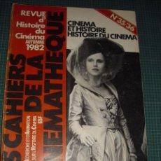 Cine: REVUE DE L'HISTOIRE DU CINEMA - OTOÑO 1982 -NUM, 35-36. Lote 93343640