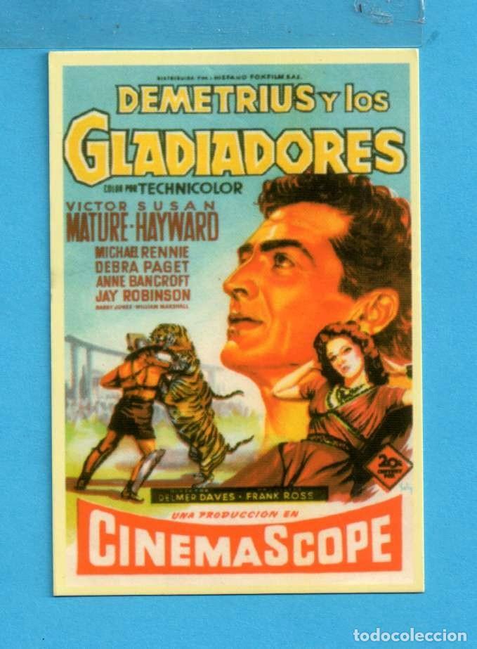 Calendario Mature.Calendario De Cine Titula Demetrius Y Los Gladi Sold