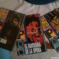 Cine: LOS GRANDES MITOS DEL CINE FANTASTICO - PANTALLA 3 - AÑO 1992 .LOTE 6 FASCÍCULOS. Lote 93587137