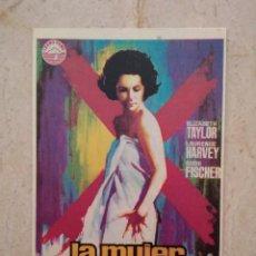 Cinéma: REPRODUCCION -9*13- LA MUJER MARCADA - ELIZABETH TAYLOR - ALBUM. Lote 93724910