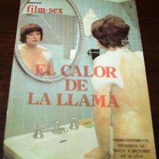 Cine: NUEVO FILM SEX Nº 5 - EL CALOR DE LA LLAMA - 1977. Lote 169995289