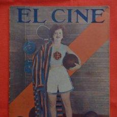 Cine: EL CINE,CLARA BOW,, AGOSTO 1932, 28 PÁGINAS. Lote 94161450