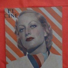 Cine: EL CINE, JOAN CRAWFORD, OCTUBRE 1931, 32 PÁGINAS.. Lote 94162475