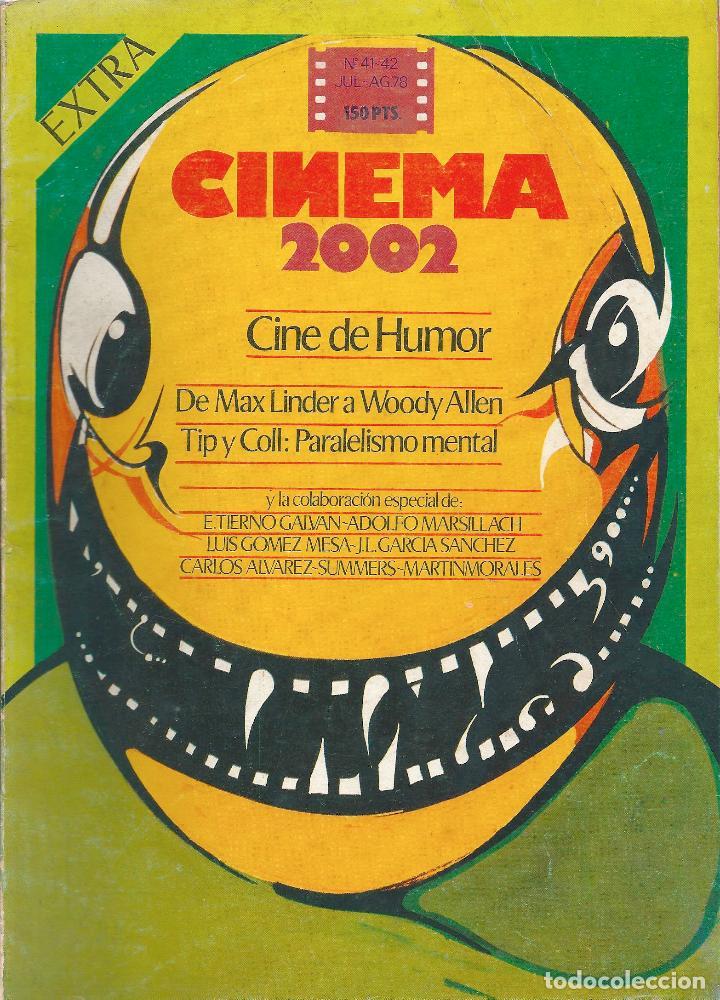 REVISTA CINEMA 2002. NÚMERO EXTRA: CINE DE HUMOR. 1978 (Cine - Revistas - Otros)
