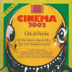 Cine: REVISTA CINEMA 2002. NÚMERO EXTRA: CINE DE HUMOR. 1978. Lote 94190145