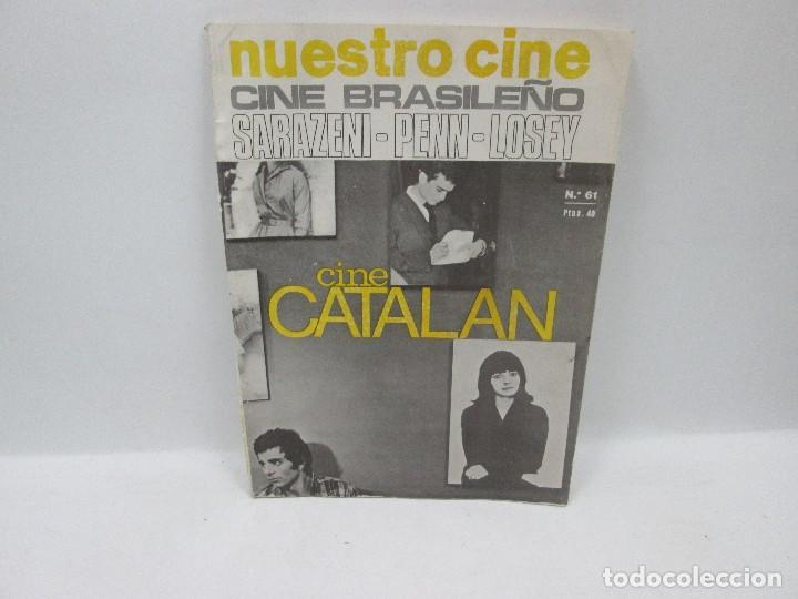 REVISTA NUESTRO CINE - Nº 61 (Cine - Revistas - Cinema)
