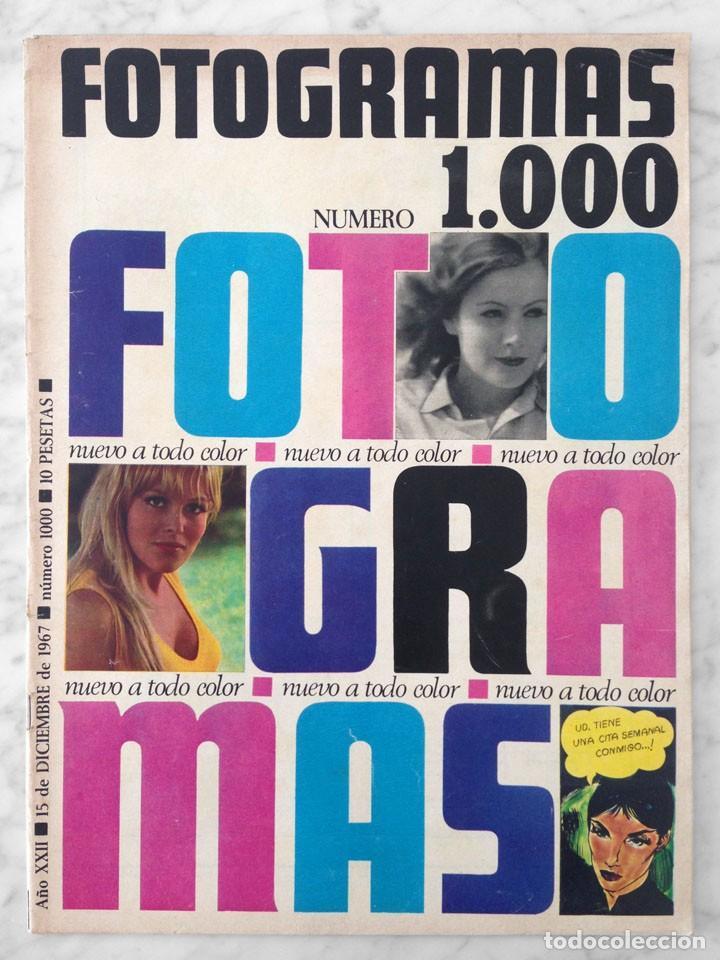 revista fotogramas - nº 1000 - 1967 - kim novak - Comprar Revistas ...