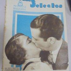 Cine: REVISTA CINE. FILMS SELECTOS. 11 NOVIEMBRE 1933. AÑO IV. Nº 161.. Lote 94631171