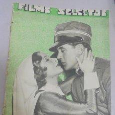 Cine: REVISTA CINE. FILMS SELECTOS. 3 FEBRERO 1934. AÑO V. Nº 173.. Lote 94632303