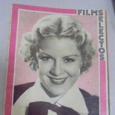 Cine: REVISTA CINE. FILMS SELECTOS. 10 FEBRERO 1934. AÑO V. Nº 174.. Lote 94632399