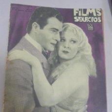 Cine: REVISTA CINE. FILMS SELECTOS. 17 FEBRERO 1934. AÑO V. Nº 175.. Lote 94632435