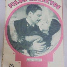 Cine: REVISTA CINE. FILMS SELECTOS. 17 MARZO 1934. AÑO V. Nº 179.. Lote 94632647