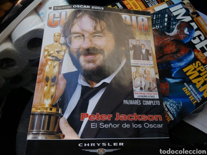 ESPECIAL OSCAR 2003. PETER JACKSON.EL SEÑOR DE LOS ANILLOS. (Cine - Revistas - Cinemanía)