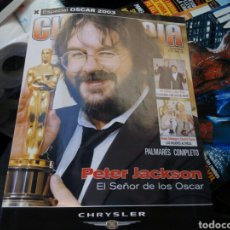 Cine: ESPECIAL OSCAR 2003. PETER JACKSON.EL SEÑOR DE LOS ANILLOS.. Lote 94855820