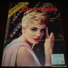 Cine: REVISTA CINÉMONDE - 12 ENERO 1956 - Nº 1118 - EN PORTADA: ROSSANA PODESTA - EN FRANCÉS. Lote 94860243