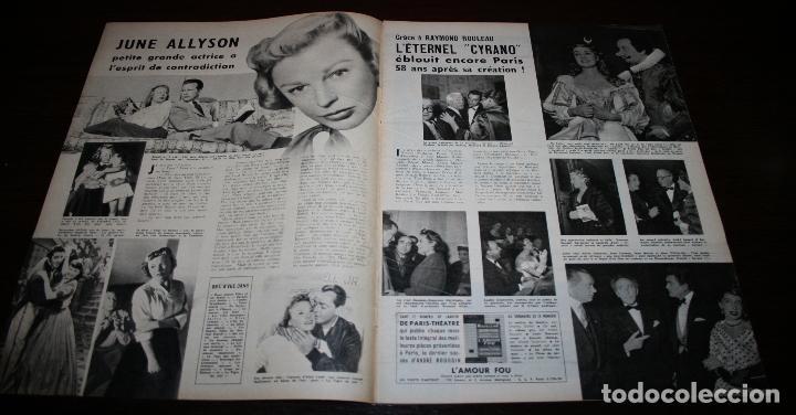 Cine: REVISTA CINÉMONDE - 2 FEBRERO 1956 - Nº 1121 - EN PORTADA: SUSAN HAYWARD - EN FRANCÉS - Foto 2 - 94860519