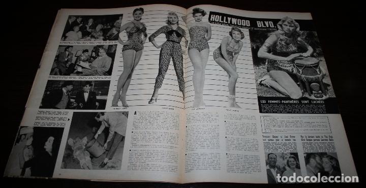 Cine: REVISTA CINÉMONDE - 2 FEBRERO 1956 - Nº 1121 - EN PORTADA: SUSAN HAYWARD - EN FRANCÉS - Foto 4 - 94860519