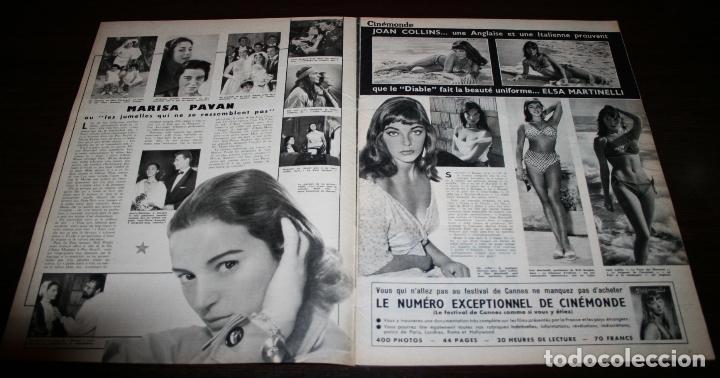 Cine: REVISTA CINÉMONDE - 12 ABRIL 1956 - Nº 1131 - EN PORTADA: MICHELE MORGAN - EN FRANCÉS - Foto 2 - 94861087