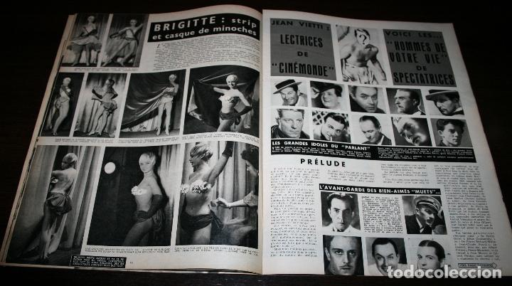 Cine: REVISTA CINÉMONDE - 12 ABRIL 1956 - Nº 1131 - EN PORTADA: MICHELE MORGAN - EN FRANCÉS - Foto 4 - 94861087