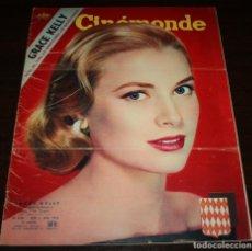 Cine: REVISTA CINÉMONDE - 5 ABRIL 1956 - Nº 1130 - EN PORTADA: GRACE KELLY - EN FRANCÉS. Lote 94861247