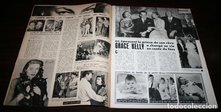 Cine: REVISTA CINÉMONDE - 5 ABRIL 1956 - Nº 1130 - EN PORTADA: GRACE KELLY - EN FRANCÉS - Foto 2 - 94861247