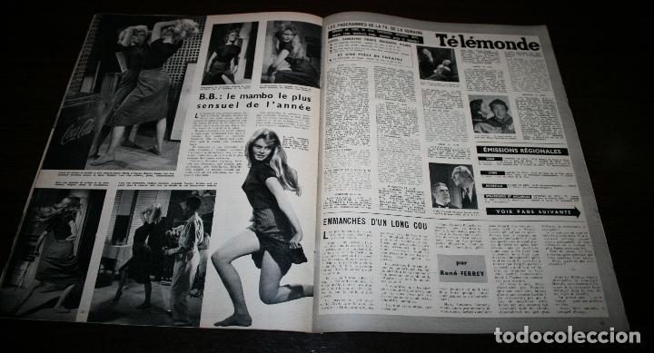 Cine: REVISTA CINÉMONDE - 21 JUNIO 1956 - Nº 1141 - EN PORTADA: BRIGITTE BARDOT - EN FRANCÉS - Foto 4 - 94893271