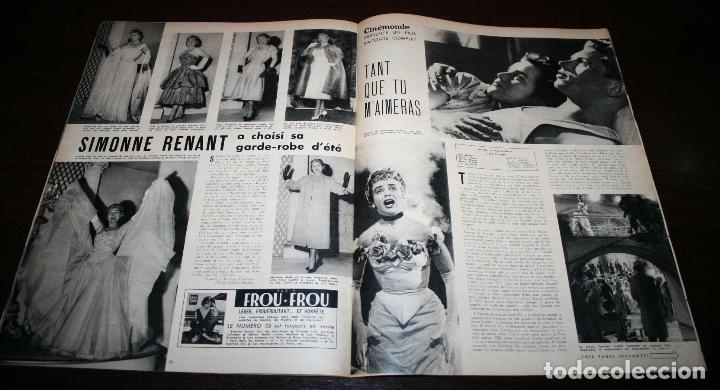 Cine: REVISTA CINÉMONDE - 21 JUNIO 1956 - Nº 1141 - EN PORTADA: BRIGITTE BARDOT - EN FRANCÉS - Foto 5 - 94893271