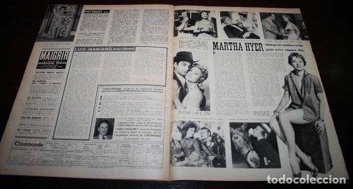 Cine: REVISTA CINÉMONDE - 21 JUNIO 1956 - Nº 1141 - EN PORTADA: BRIGITTE BARDOT - EN FRANCÉS - Foto 6 - 94893271