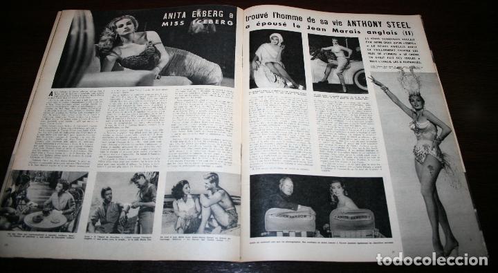 Cine: REVISTA CINÉMONDE - 14 JUNIO 1956 - Nº 1140 - EN PORTADA: LUIS MARIANO... - EN FRANCÉS - Foto 4 - 94894083
