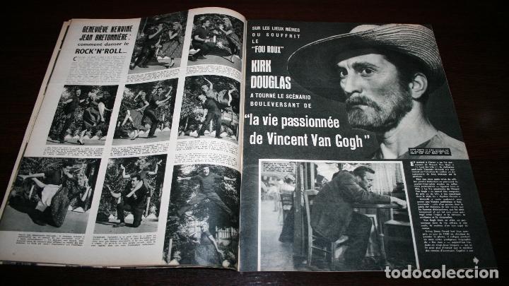 Cine: REVISTA CINÉMONDE - 25 OCTUBRE 1956 - Nº 1159 - EN PORTADA: ELIZABETH TAYLOR - EN FRANCÉS - Foto 3 - 94910971