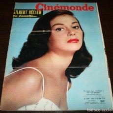 Cine: REVISTA CINÉMONDE - 11 OCTUBRE 1956 - Nº 1157 - EN PORTADA: PIER ANGELI - EN FRANCÉS. Lote 94911535