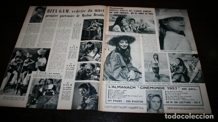 Cine: REVISTA CINÉMONDE - 11 OCTUBRE 1956 - Nº 1157 - EN PORTADA: PIER ANGELI - EN FRANCÉS - Foto 2 - 94911535