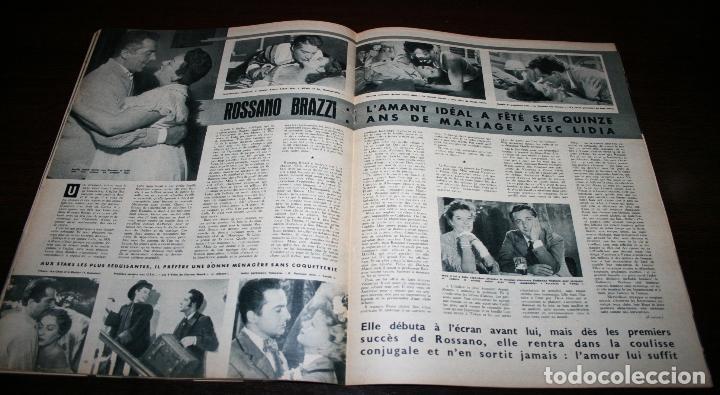 Cine: REVISTA CINÉMONDE - 11 OCTUBRE 1956 - Nº 1157 - EN PORTADA: PIER ANGELI - EN FRANCÉS - Foto 5 - 94911535