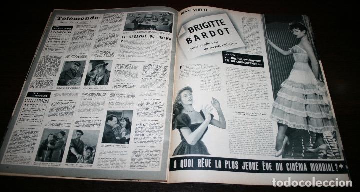 Cine: REVISTA CINÉMONDE - 11 OCTUBRE 1956 - Nº 1157 - EN PORTADA: PIER ANGELI - EN FRANCÉS - Foto 6 - 94911535