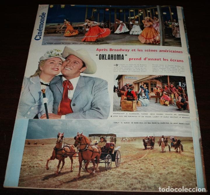 Cine: REVISTA CINÉMONDE - 11 OCTUBRE 1956 - Nº 1157 - EN PORTADA: PIER ANGELI - EN FRANCÉS - Foto 7 - 94911535