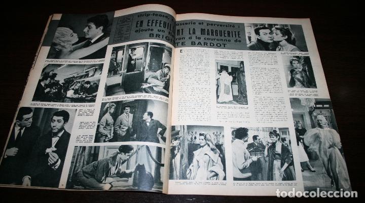 Cine: REVISTA CINÉMONDE - 4 OCTUBRE 1956 - Nº 1156 - EN PORTADA: FRANÇOISE ARNOUL - EN FRANCÉS - Foto 4 - 94911787