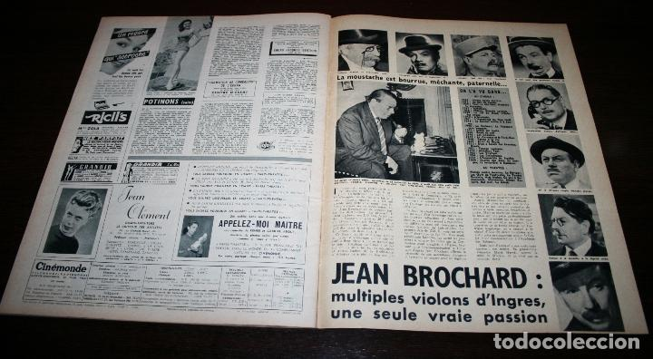 Cine: REVISTA CINÉMONDE - 4 OCTUBRE 1956 - Nº 1156 - EN PORTADA: FRANÇOISE ARNOUL - EN FRANCÉS - Foto 6 - 94911787