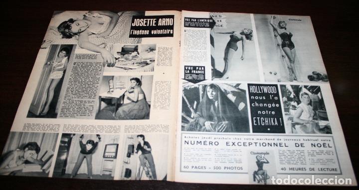 Cine: REVISTA CINÉMONDE - 22 NOVIEMBRE 1956 - Nº 1163 - EN PORTADA: GEORGES GUETARY - EN FRANCÉS - Foto 2 - 94912079