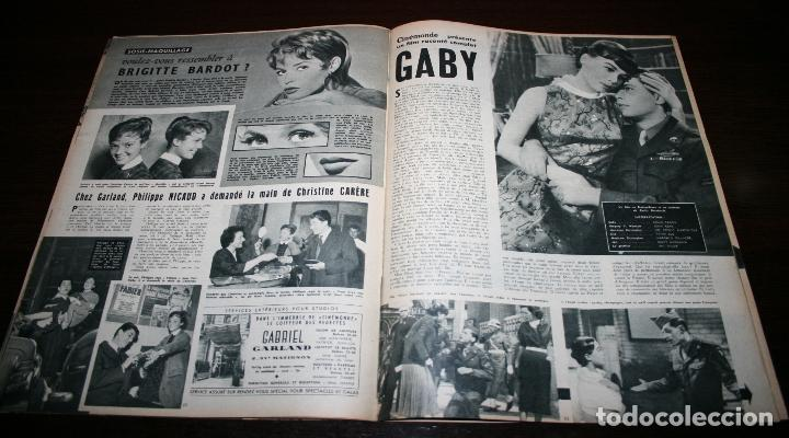 Cine: REVISTA CINÉMONDE - 22 NOVIEMBRE 1956 - Nº 1163 - EN PORTADA: GEORGES GUETARY - EN FRANCÉS - Foto 3 - 94912079
