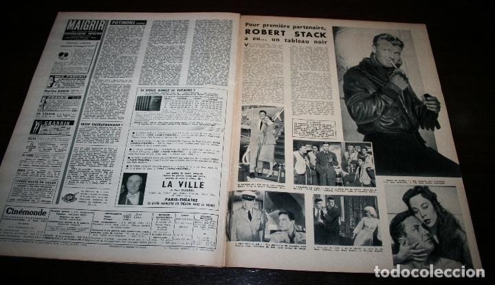 Cine: REVISTA CINÉMONDE - 22 NOVIEMBRE 1956 - Nº 1163 - EN PORTADA: GEORGES GUETARY - EN FRANCÉS - Foto 4 - 94912079