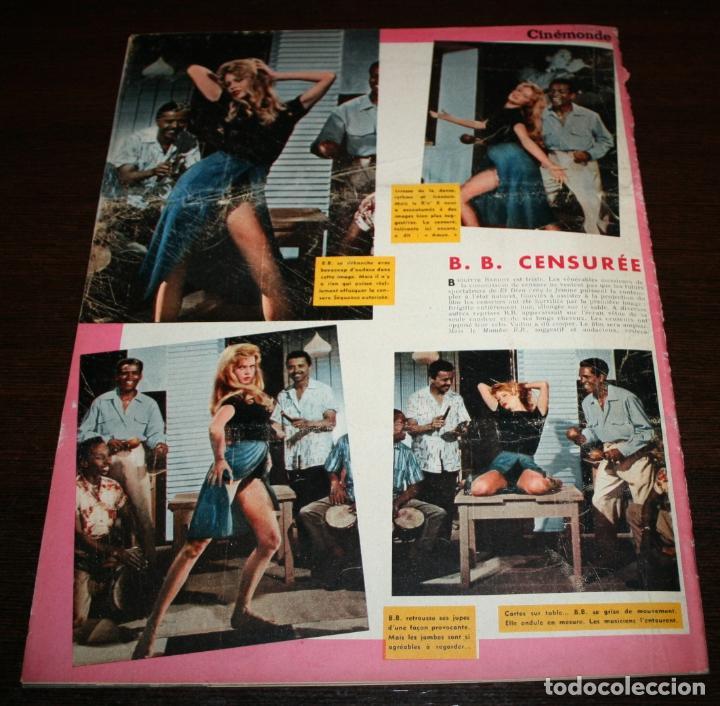 Cine: REVISTA CINÉMONDE - 22 NOVIEMBRE 1956 - Nº 1163 - EN PORTADA: GEORGES GUETARY - EN FRANCÉS - Foto 5 - 94912079