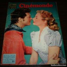 Cine: REVISTA CINÉMONDE - 15 NOVIEMBRE 1956 - Nº 1162 - EN PORTADA: GORDON MCRAE/SHIRLEY JONES- EN FRANCÉS. Lote 94912395