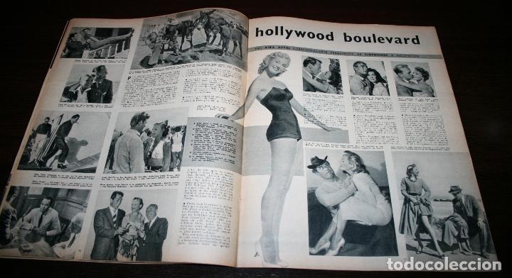 Cine: REVISTA CINÉMONDE - 15 NOVIEMBRE 1956 - Nº 1162 - EN PORTADA: GORDON MCRAE/SHIRLEY JONES- EN FRANCÉS - Foto 3 - 94912395