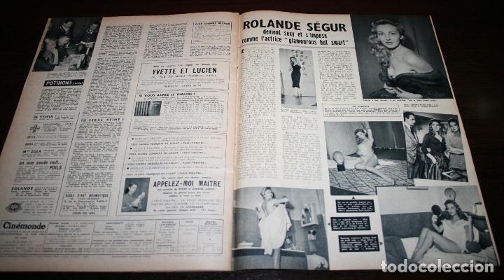 Cine: REVISTA CINÉMONDE - 15 NOVIEMBRE 1956 - Nº 1162 - EN PORTADA: GORDON MCRAE/SHIRLEY JONES- EN FRANCÉS - Foto 4 - 94912395