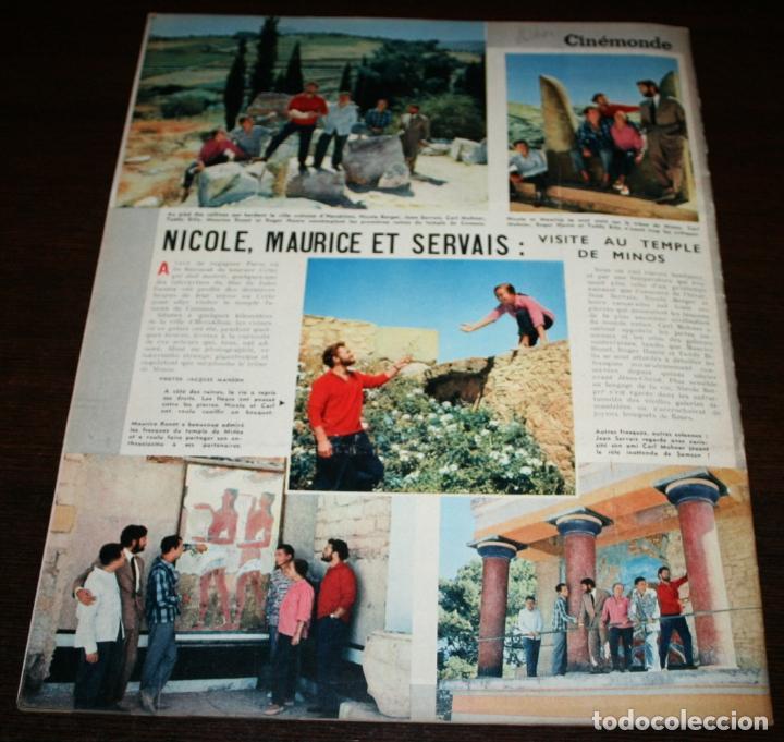 Cine: REVISTA CINÉMONDE - 15 NOVIEMBRE 1956 - Nº 1162 - EN PORTADA: GORDON MCRAE/SHIRLEY JONES- EN FRANCÉS - Foto 5 - 94912395