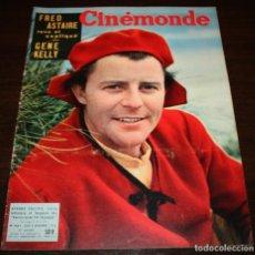 Cine: REVISTA CINÉMONDE - 8 NOVIEMBRE 1956 - Nº 1161 - EN PORTADA: GERARD PHILIPE - EN FRANCÉS. Lote 94912495