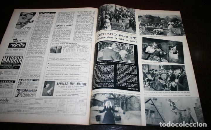 Cine: REVISTA CINÉMONDE - 8 NOVIEMBRE 1956 - Nº 1161 - EN PORTADA: GERARD PHILIPE - EN FRANCÉS - Foto 5 - 94912495