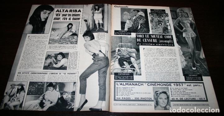 Cine: REVISTA CINÉMONDE - 27 DICIEMBRE 1956 - Nº 1168 - EN PORTADA: LOLA FLORES / LUIS MARIANO, EN FRANCÉS - Foto 2 - 94912931